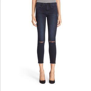 Frame Le High skinny sterling jeans size 27 CL